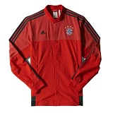 ADIDAS FC Bayern Munchen Anthem Jacket Size XL [M36356] - Red